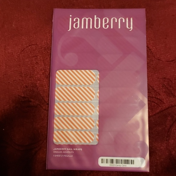 Jamberry Other - Jamberry Nail Wraps Candy Cane